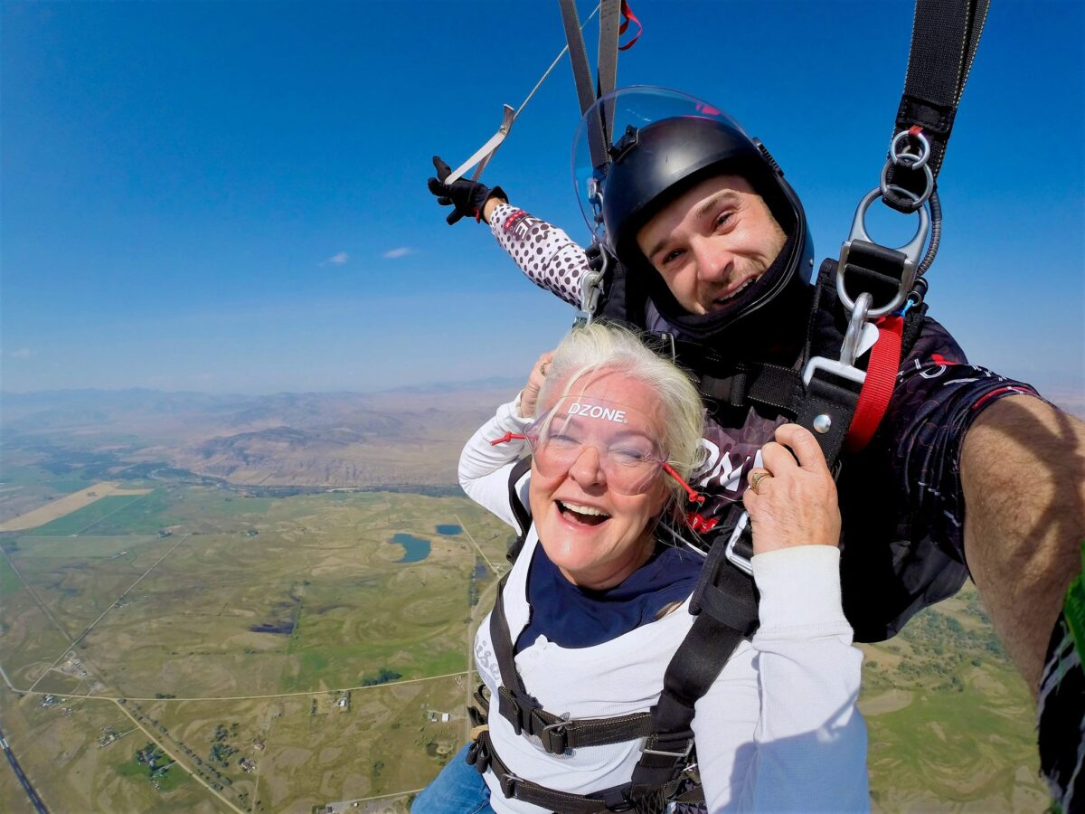 Skydiving at any age at DZONE® Skydiving