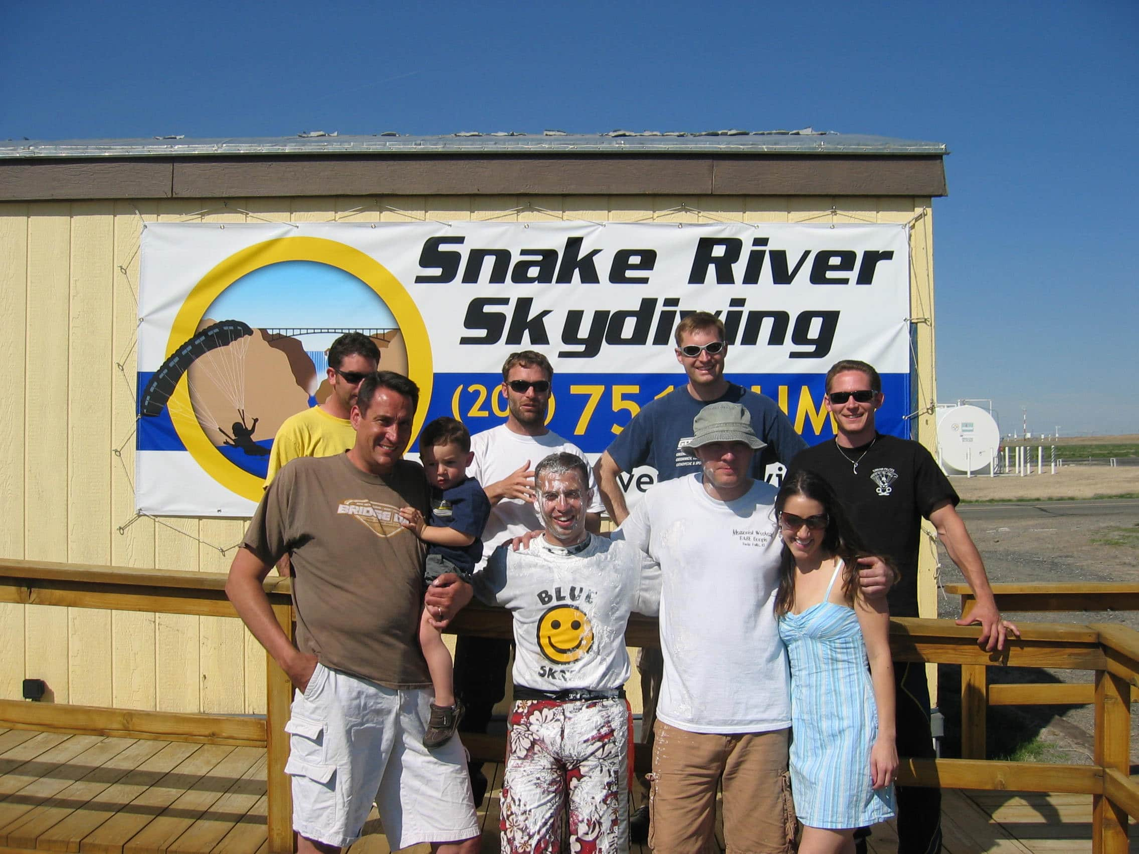 Abbie Mashaal at Snake River Skydiving